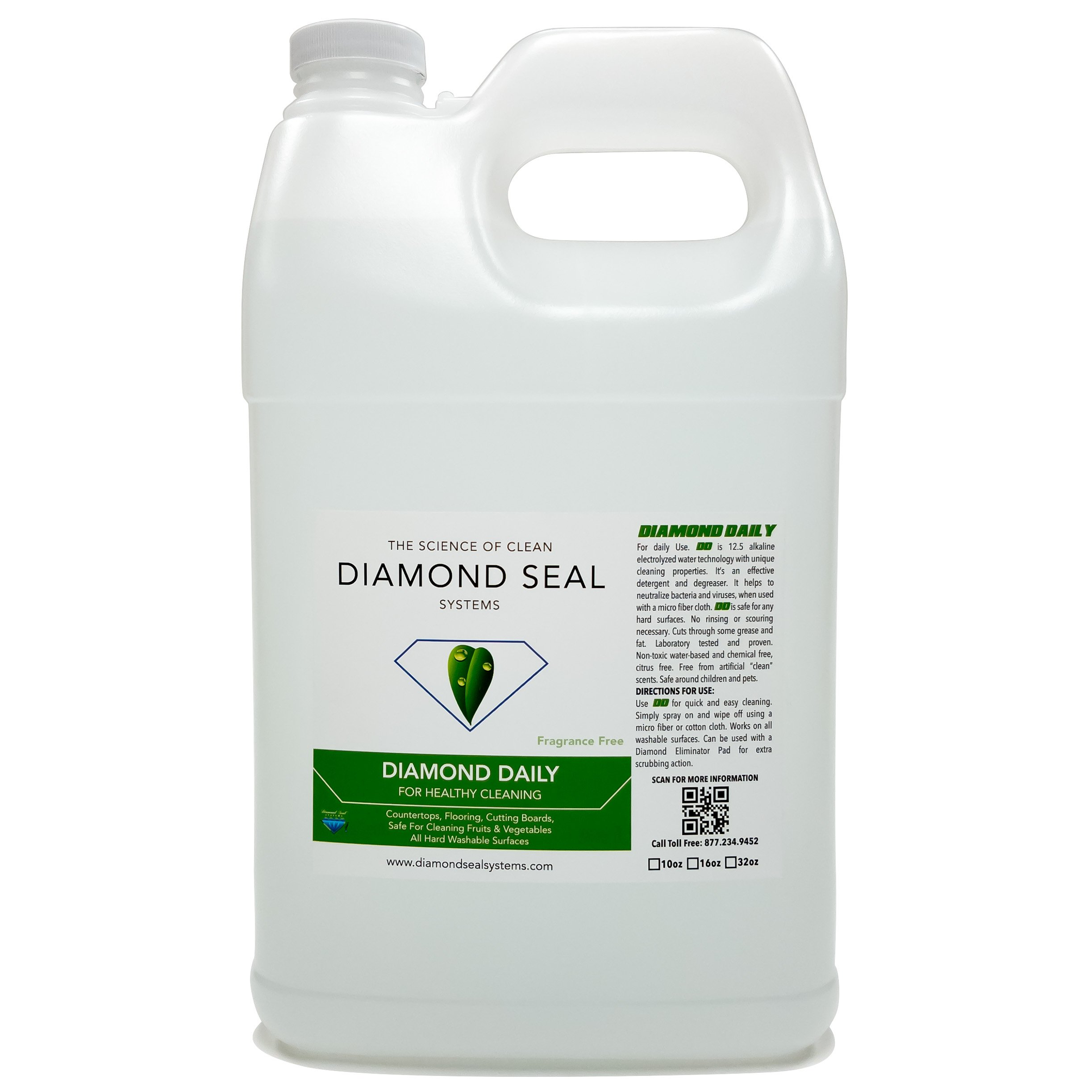 Diamond Daily Green cleaner for all your hard surfaces Direct from the manufacturer