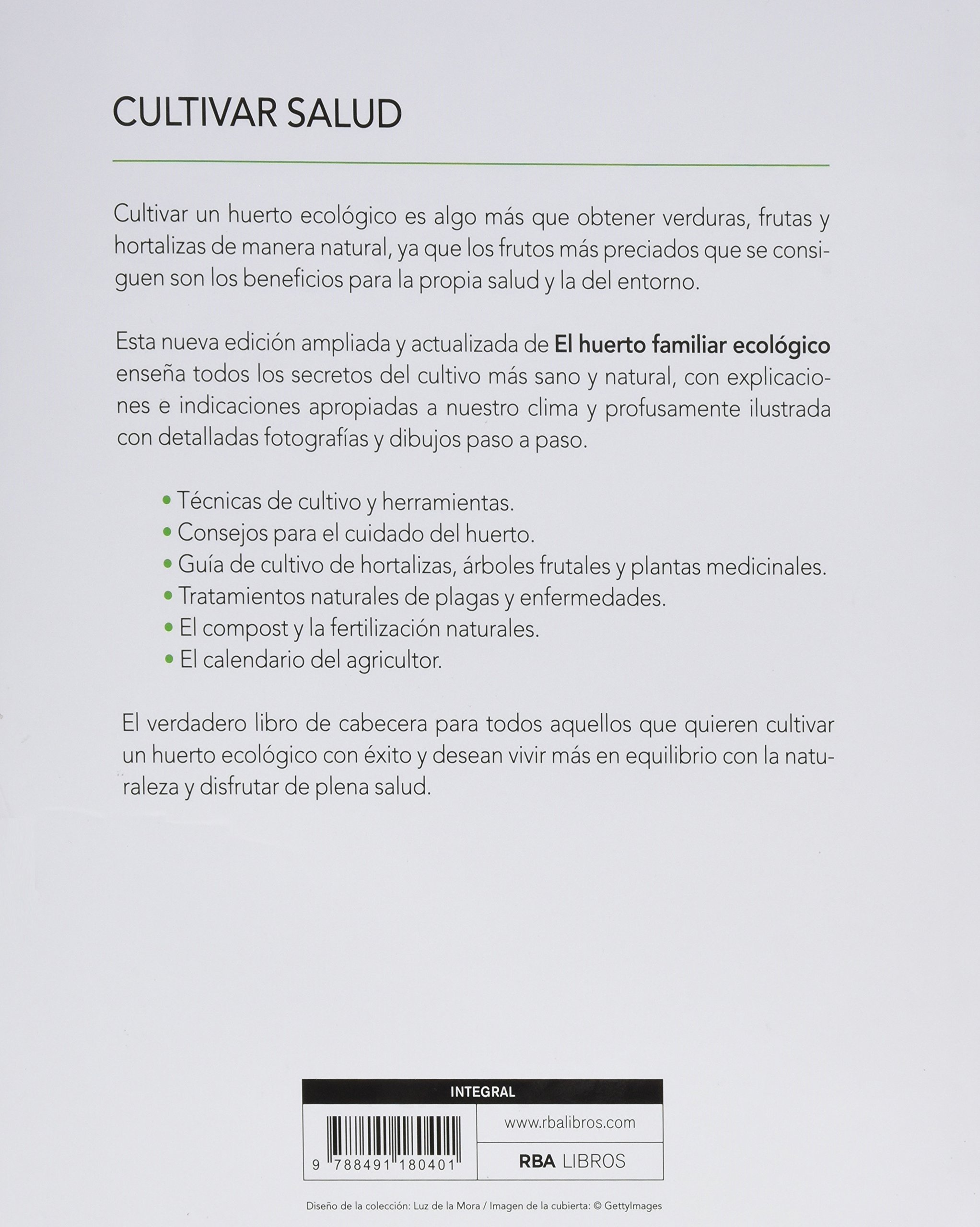 El huerto familiar ecológico (CULTIVOS): Amazon.es: MARIANO BUENO BOSCH: Libros