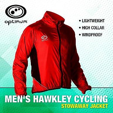 Optimum Cycling - Chaqueta de ciclismo para hombre: Amazon.es: Deportes y aire libre