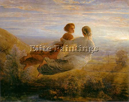 Janmot Louis Poeme L Ame 16 Vol L Ame Artiste Tableaux Huile