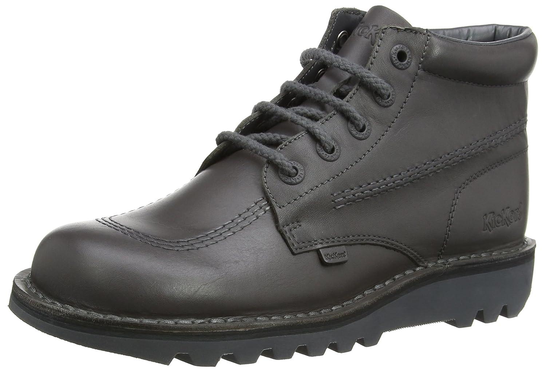 Kickers Kick Hi, Botines para Hombre, Gris Oscuro, 41 EU: Amazon.es: Zapatos y complementos