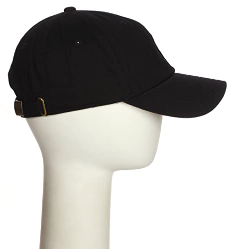 7f587517df854 Classic Team 3D Layered Coach Letters Unstructured Low Profile Baseball Dad Hat  Cap Black Hat Gold Red Letters at Amazon Men s Clothing store