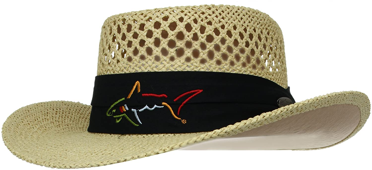 b11842cc0 Greg Norman Men's Signature Straw Hat-Beige, One Size