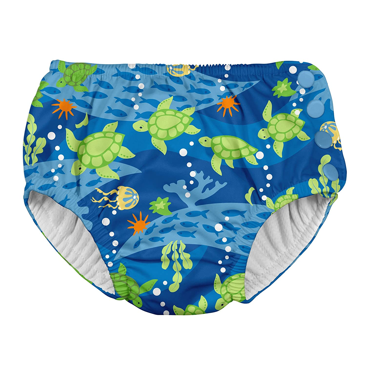 i play Swim Nappy, 12 to 18 Months, Blue Turtle Journey JellyBean/First Steps 721150