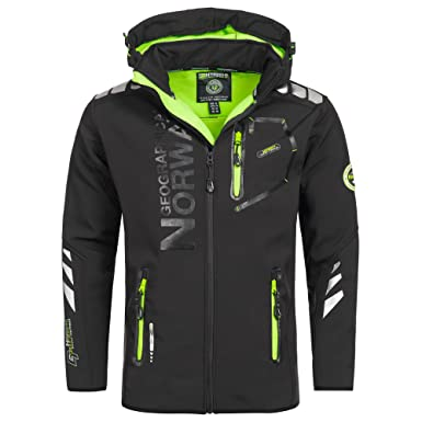 Geographical Norway Vantaa Chaqueta para Hombre Softshell ...