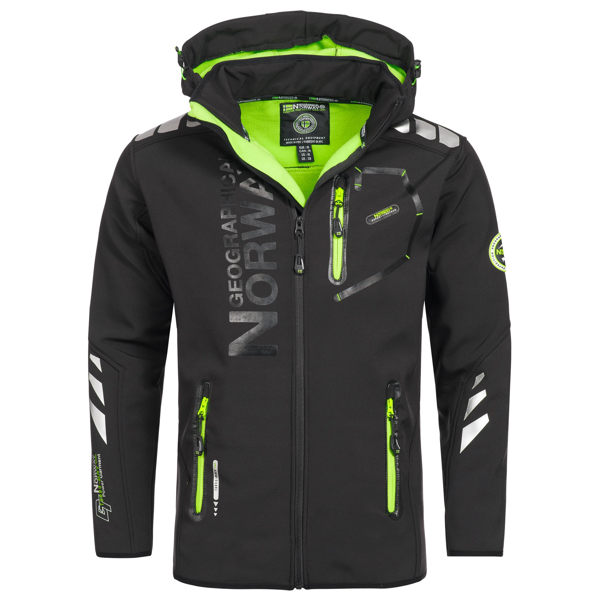 efc43b2a2d43 Geographical Norway Vantaa Herren Softshell Jacke Outdoor Funktionsjacke  product image