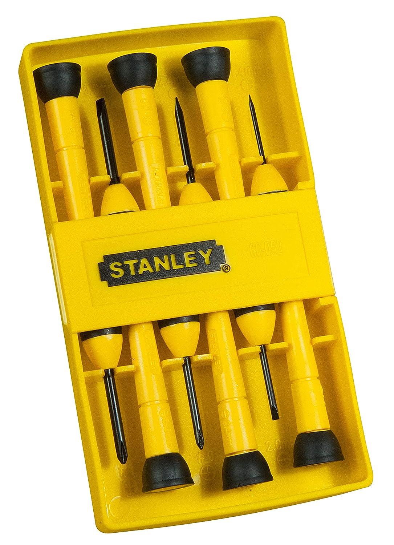 Stanley 0-66-052 - Juego de destornilladores de precisión (6 unidades)