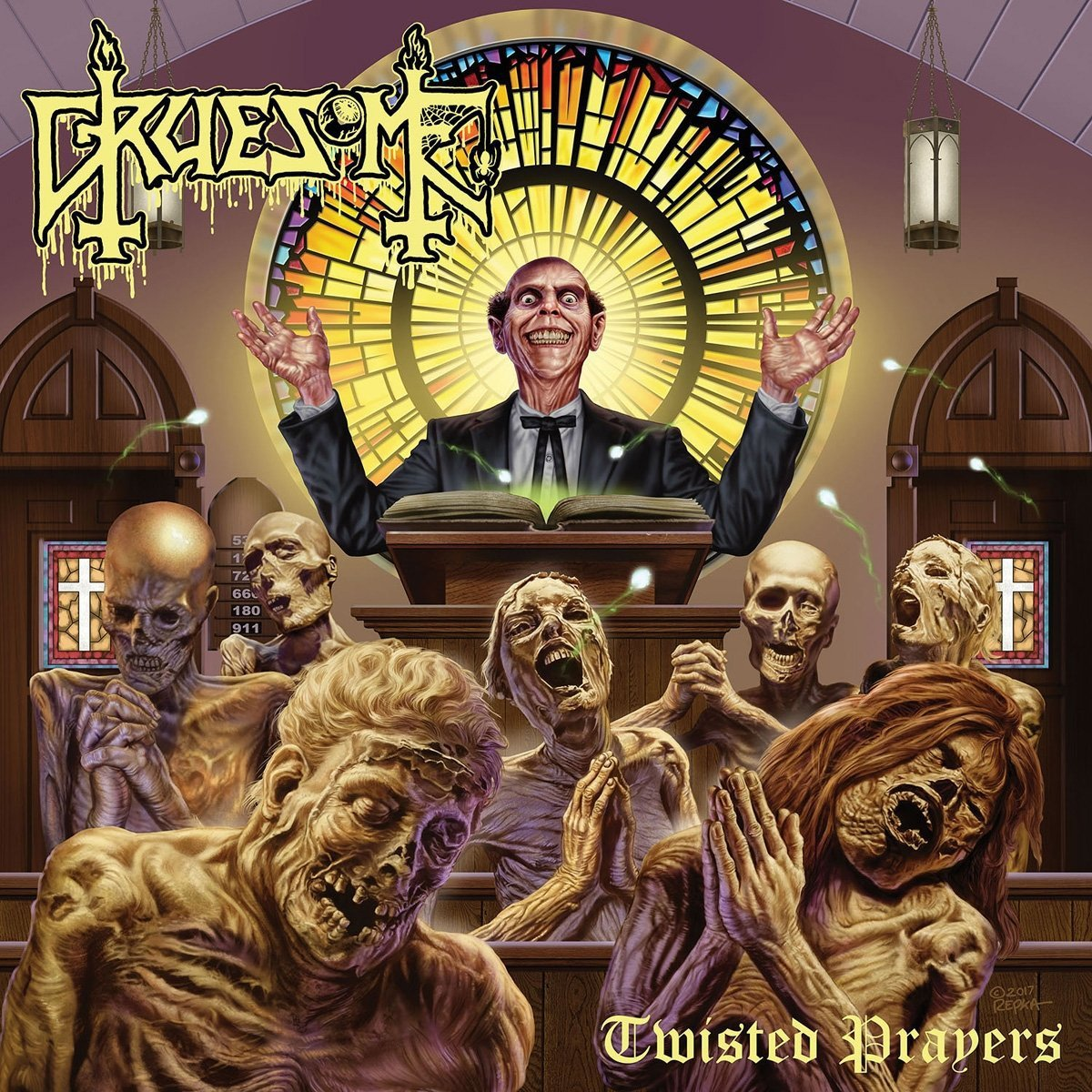 Vinilo : Gruesome - Twisted Prayers (LP Vinyl)