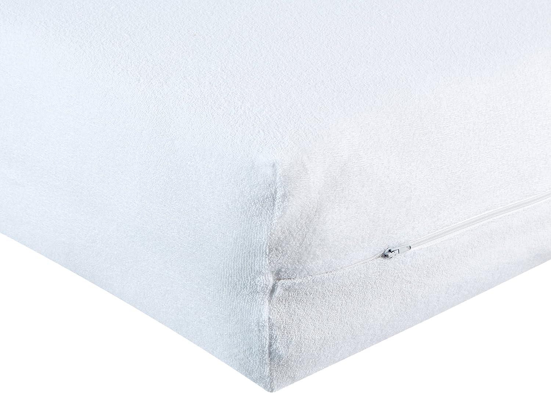 Matratzenbezug Übergröße 80 x 220 cm Allergikergeeignet mit Reißverschluss