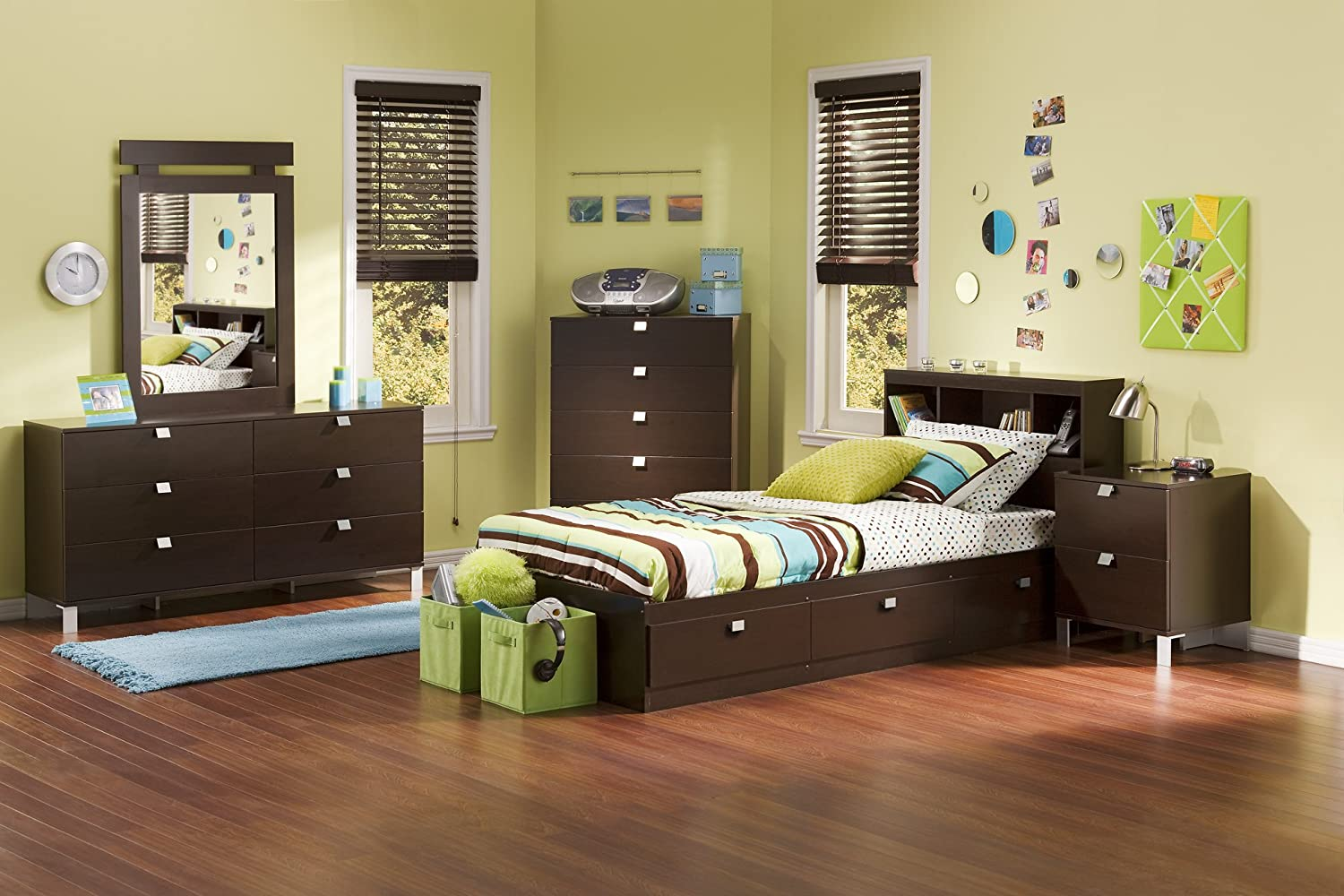 with white walmart bed logik canada furniture shore twin ip drawers south bedroom en storage