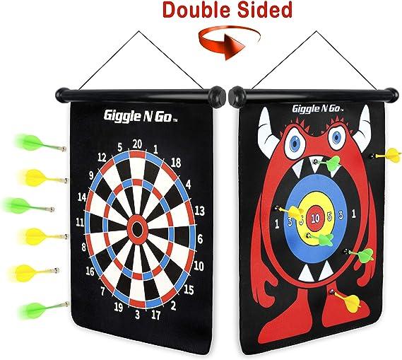 20pcs Magnetic Darts Toys Bullseye Target Game Plastic Wing Magnetic Darts Toys