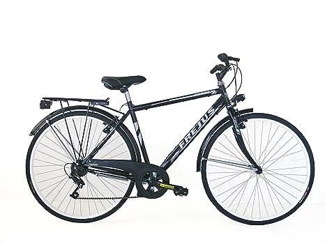 Frejus Manchester Bicicletta Da Città Uomo Nero M 28 Pollici 6 Velocità