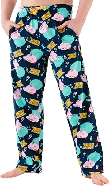 Peppa Pig Pantalones de Pijama para Hombre Papa Pig Multicolore Small: Amazon.es: Ropa y accesorios