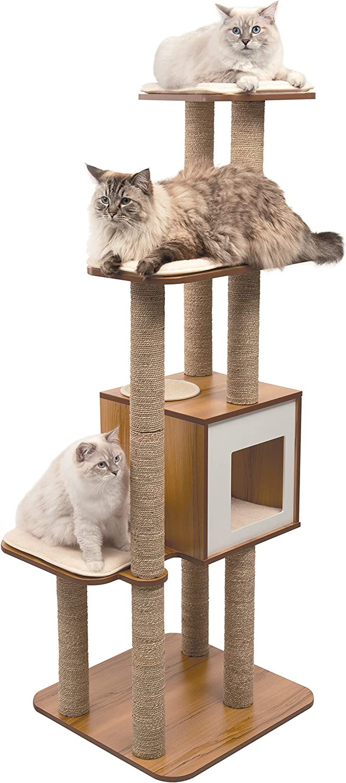 VESPER High Base Extra Large Cat Tree, Cat Furniture, 52060