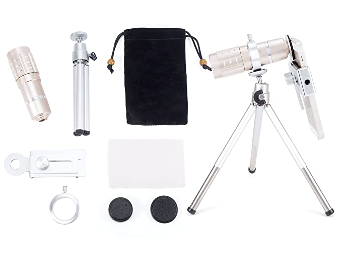 Mobilegear optical zoom telescope mobile camera lens kit with