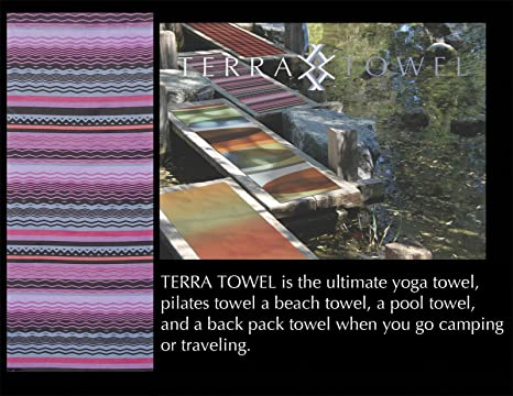 Amazon.com: Toalla de Yoga por toalla de Terra: La Mejor ...