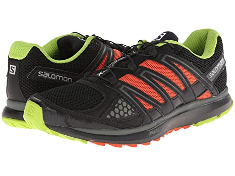 Salomon X Scream Trail Running Shoes, (BlackGranny GreenGeorge Orange)