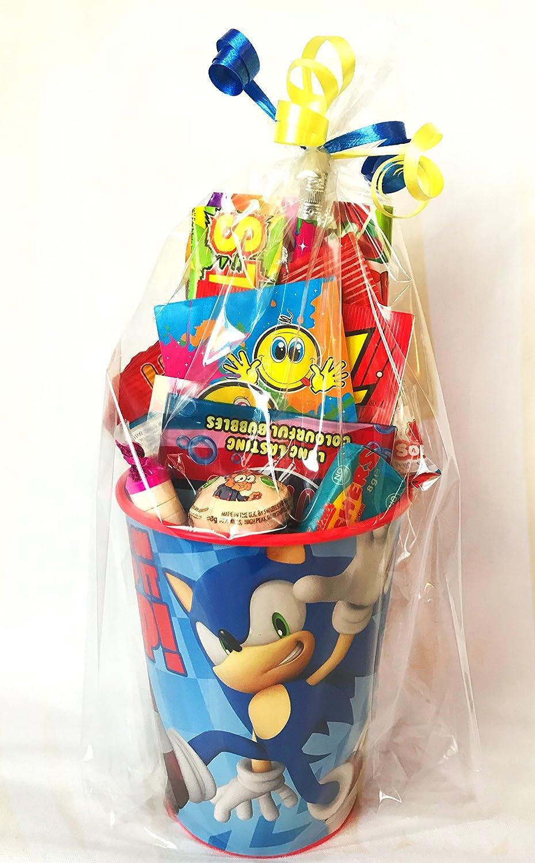 Sonic - Vasos prerellenos para fiesta, diseño de Sonic ...