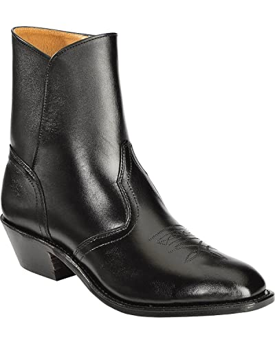 102c27c9925 Boulet Men's Side Zip Ankle Boot Square Toe - 1114