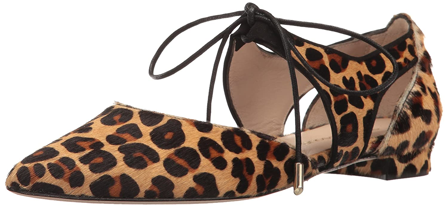 Andre Assous Women's Maddie Pointed Toe Flat B01N4MBYBO 6 B(M) US|Leopard