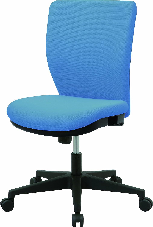 ナカバヤシ オフィスチェア デスクチェア 椅子 ブルー CGS-101B B00A62B1EG ブルー ブルー