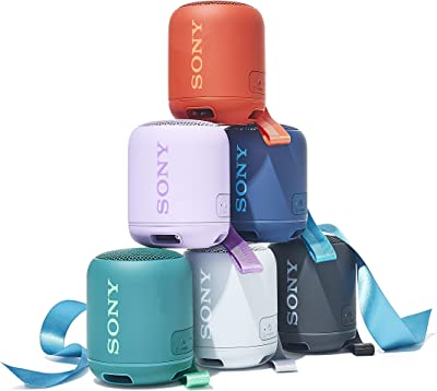 Sony SRS-XB12 Portable Wireless Extra Bass Black Speaker (Each)