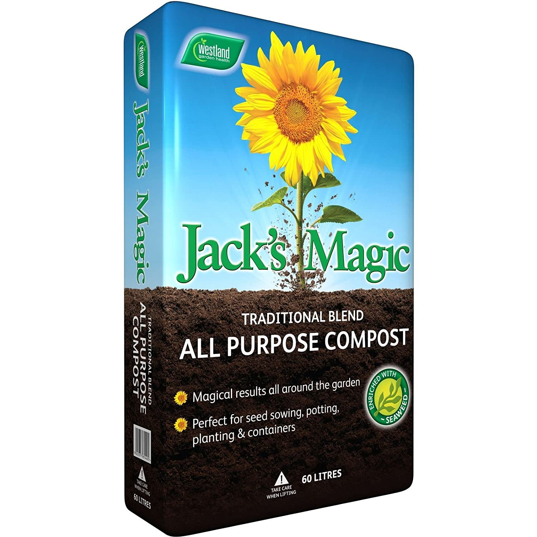 Westland Jack's Magic All Purpose Compost, 60 litres