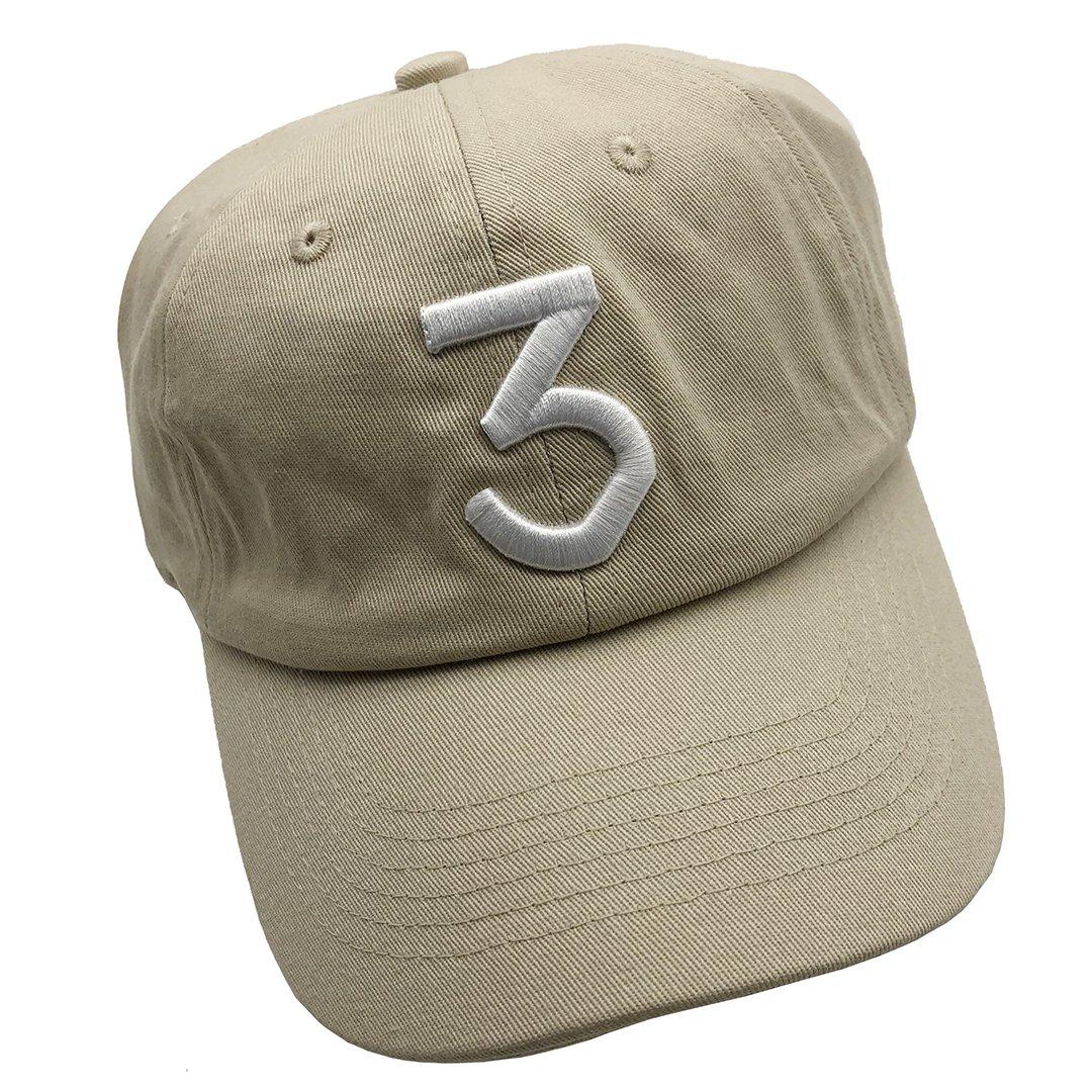 f014825550854 Amazon.com  Zhangjunlin Number 3 Dad Hat Baseball Cap Embroidered Dad Hats  Adjustable Hats Plain Cap Beige  Clothing