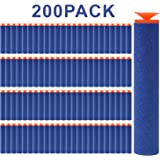 FUCAS Refill Darts 200PCS Universal Suction Darts for Nerf N-strike Elite