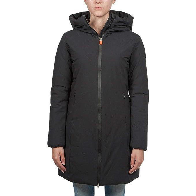 wholesale dealer 4abbc 06b8a SAVE THE DUCK Piumino lungo anti-pioggia donna mod.D4306W ...