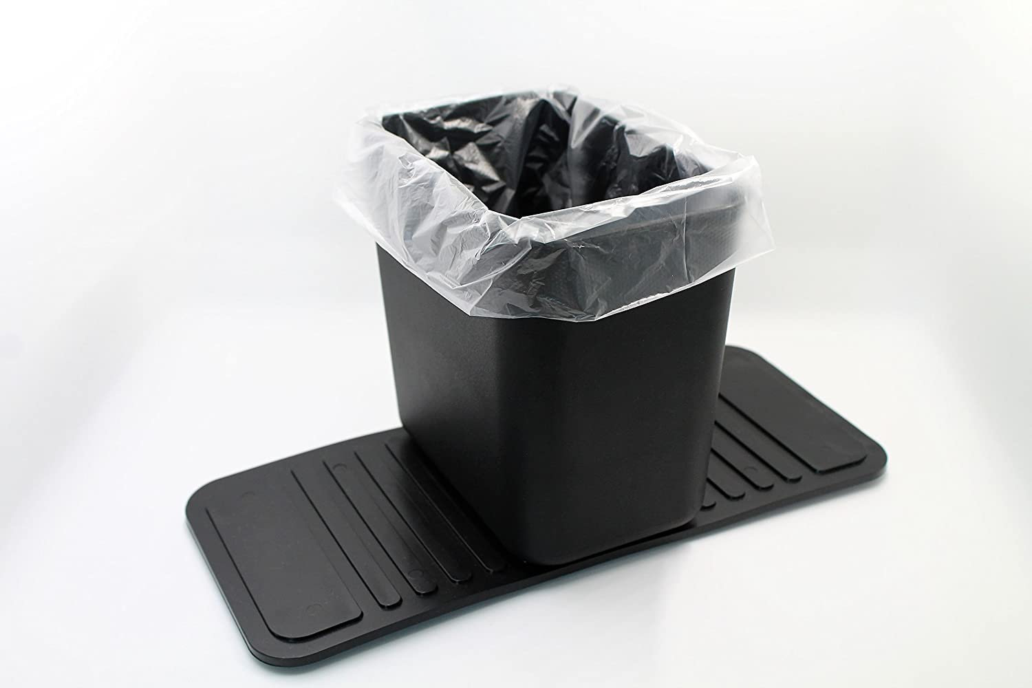 Meistar Auto Garbage Car Trash can Bin Waste Container Plastic with 20 Free Disposable Bags!!! Product Dimensions: 3.9'' x 5.9'' x 5.5''. Base: 11'' x 5'' Meistar Global