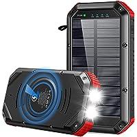 ORITO Power Bank 30000mAh, 【2020 Nueva Versión】 Batería Externa Carga Rápida PD18W, Cargador Solar con Carga Inalambrica…
