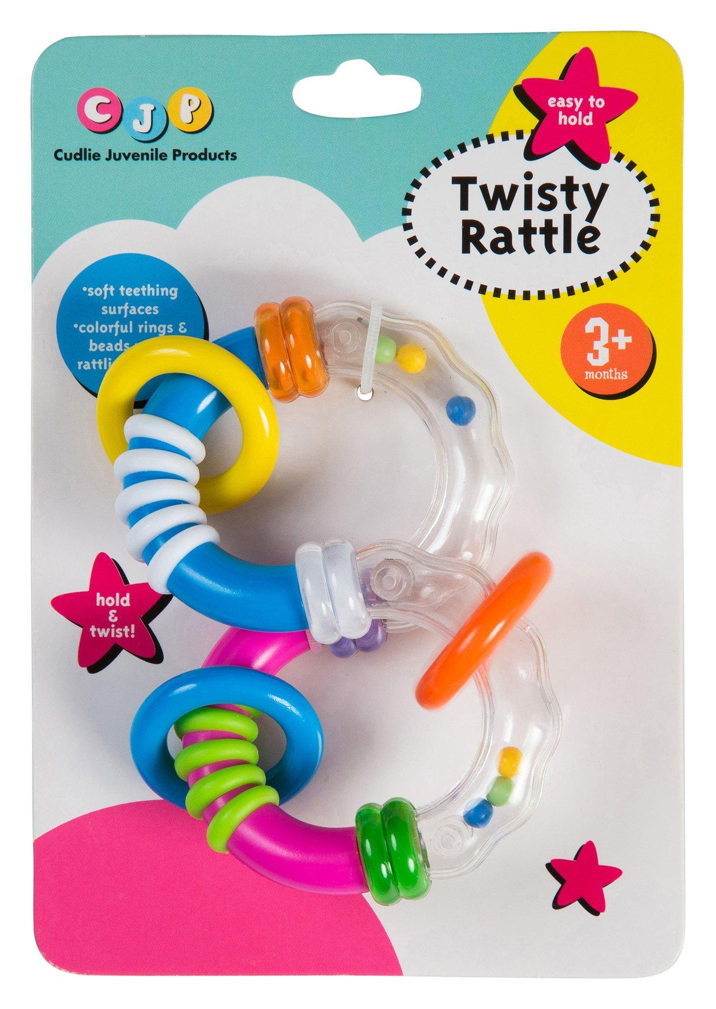 Cudlie Children's Baffling Twisty Rattle