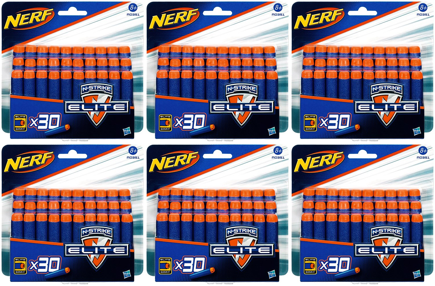 Nerf N-Strike Elite Clip System Darts 180er Pack