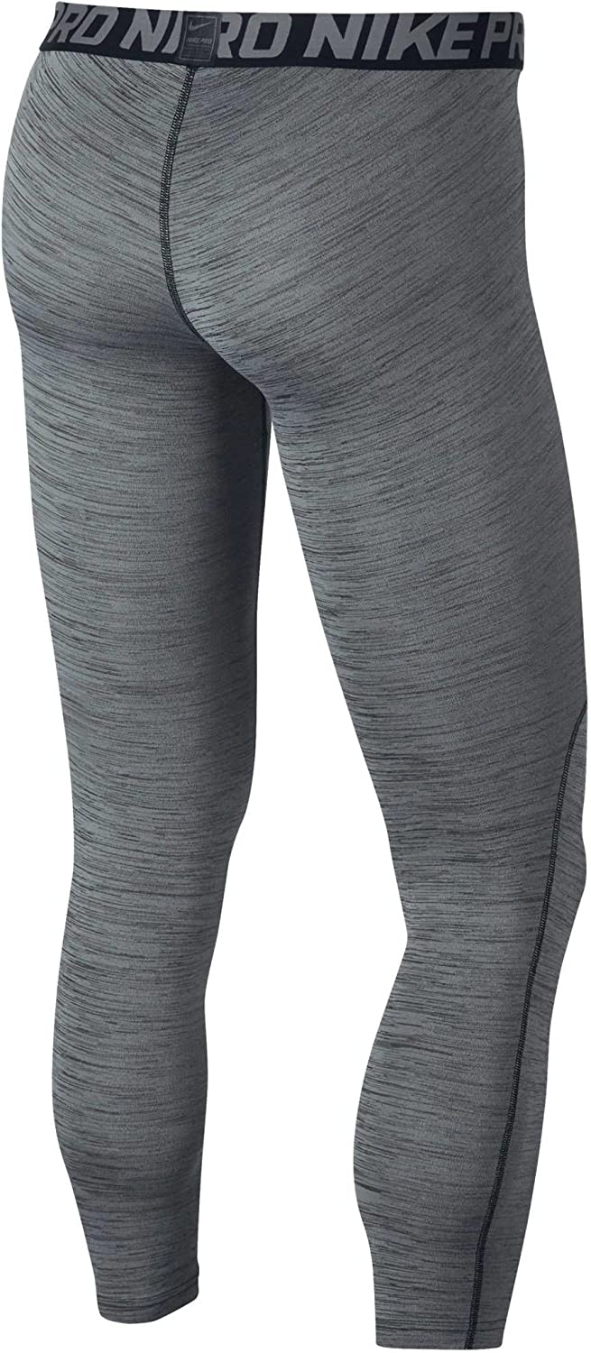Nike Mens Pro Heather Printed Tights