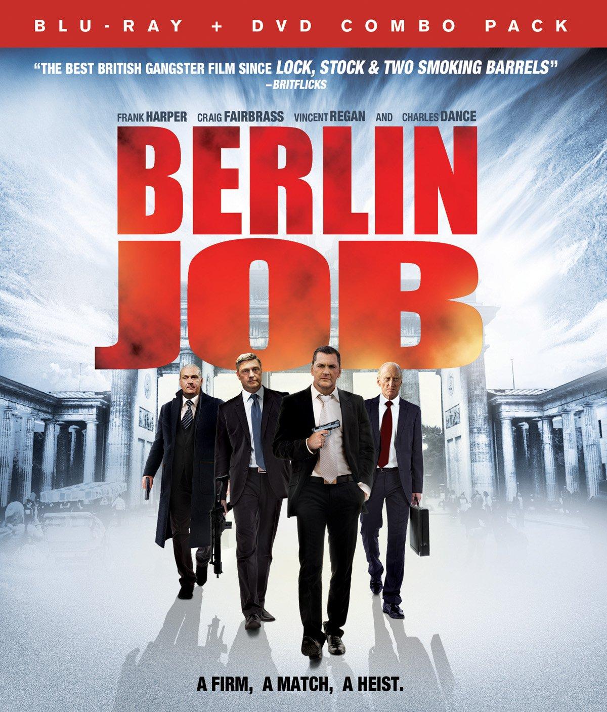 Blu-ray : Berlin Job (With DVD, 2 Pack, 2PC)