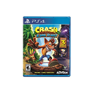 Crash Bandicoot N. Sane Trilogy - PlayStation 4 Standard Edition Activision