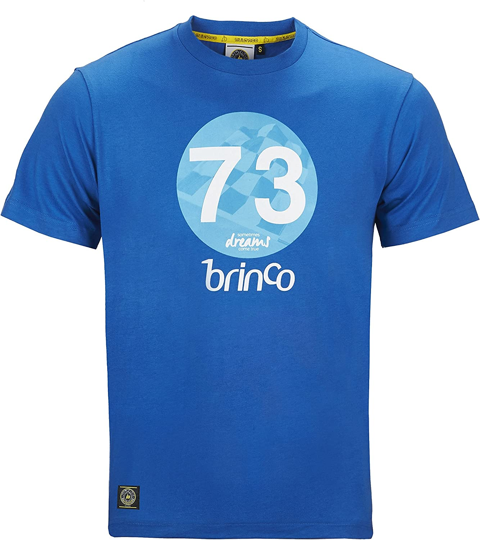 Bultaco Camiseta Manga Corta Hombre, Color Azul, Brinco, (XS ...