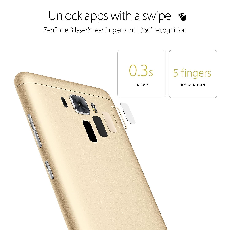 Asus Zenfone 3 Laser 5 Factory Unlocked Phone 32 Gb Zoom S Ze553kl Lte 55ampquot 4 64gb Gold Us Warranty Cell Phones Accessories