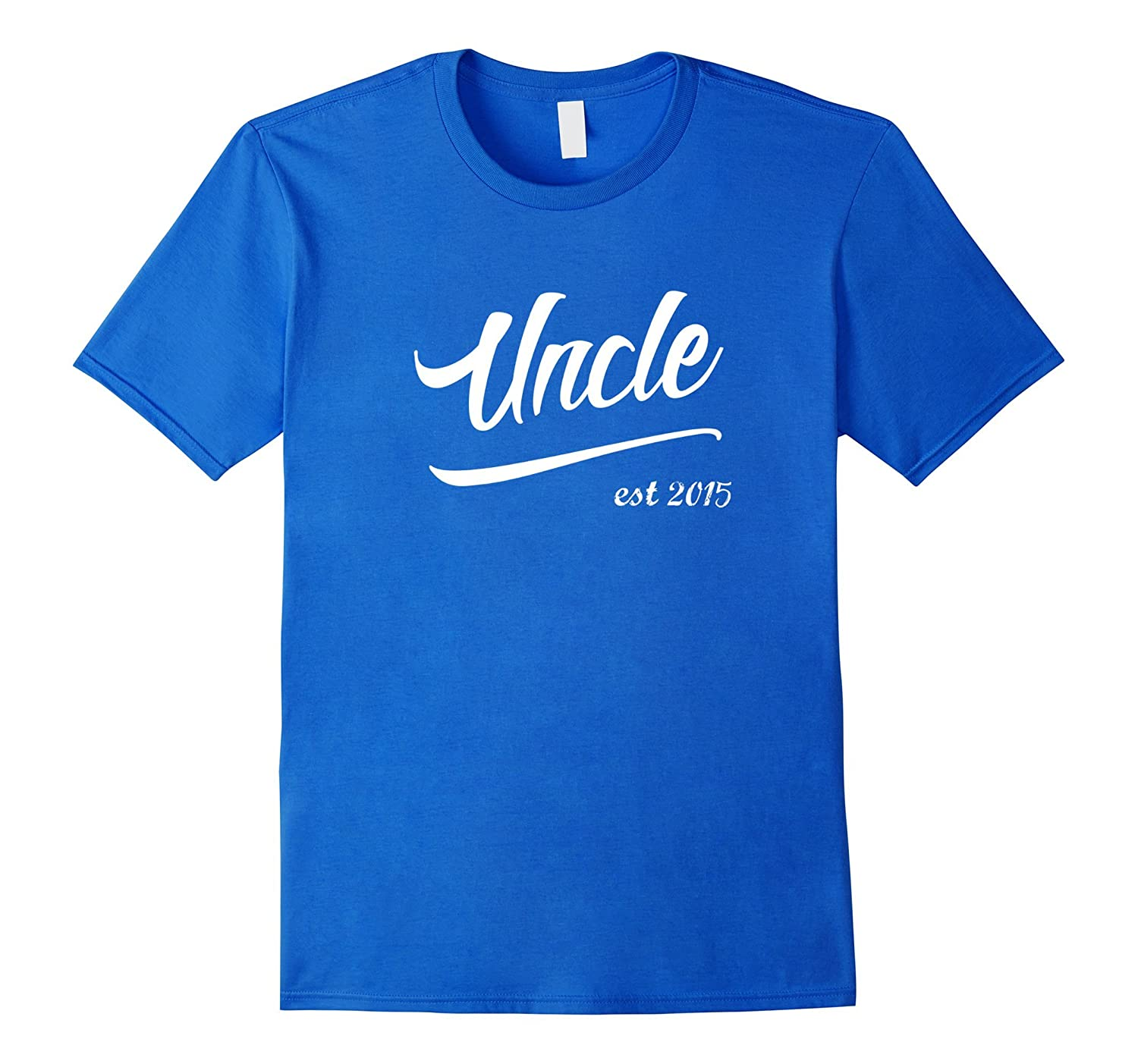 Uncle est 2015 Matching T-Shirt Aunt New Niece Nephew Auntie-ANZ