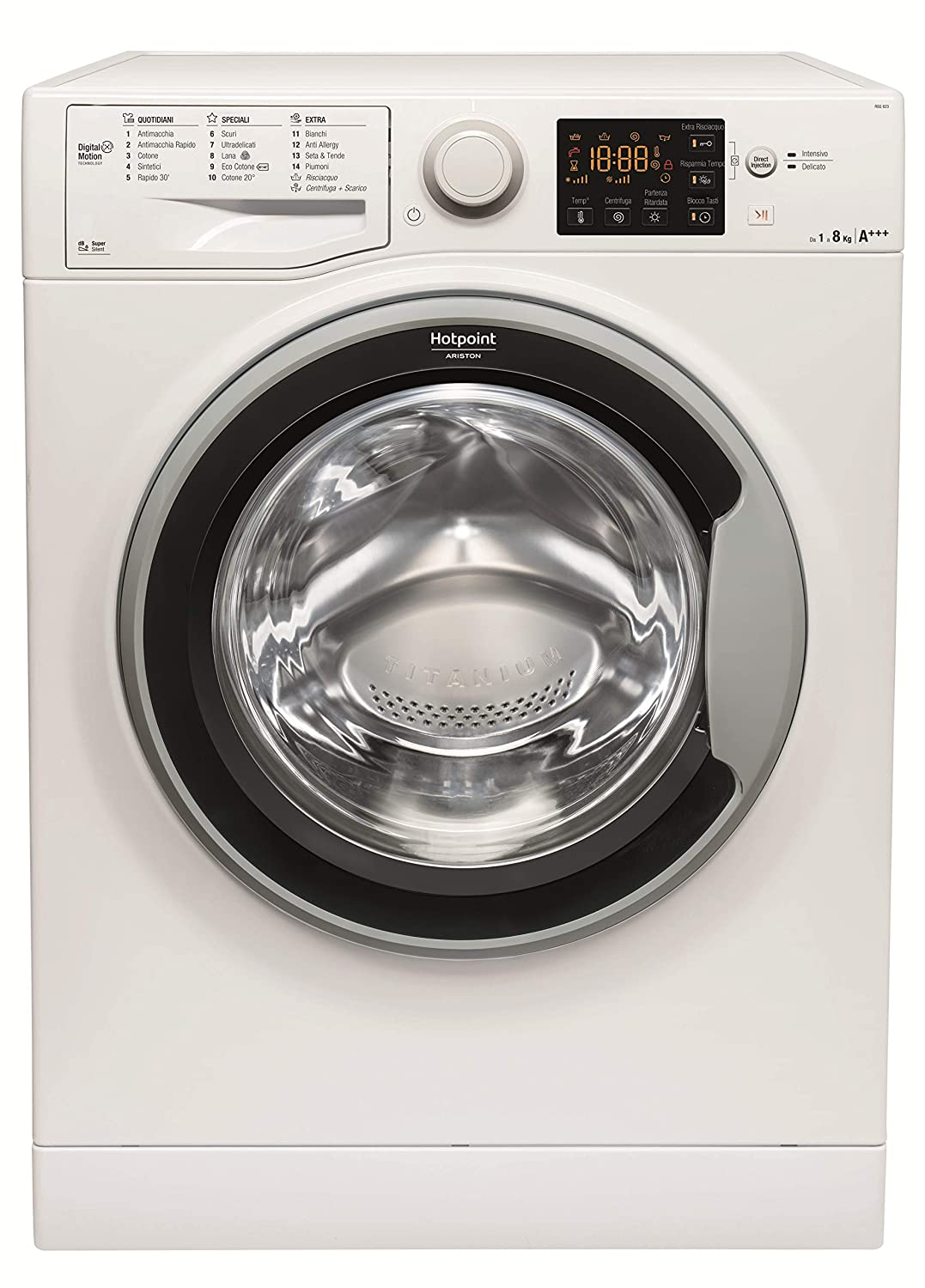 Hotpoint RSG 823 S IT Independiente Carga frontal 8kg ...