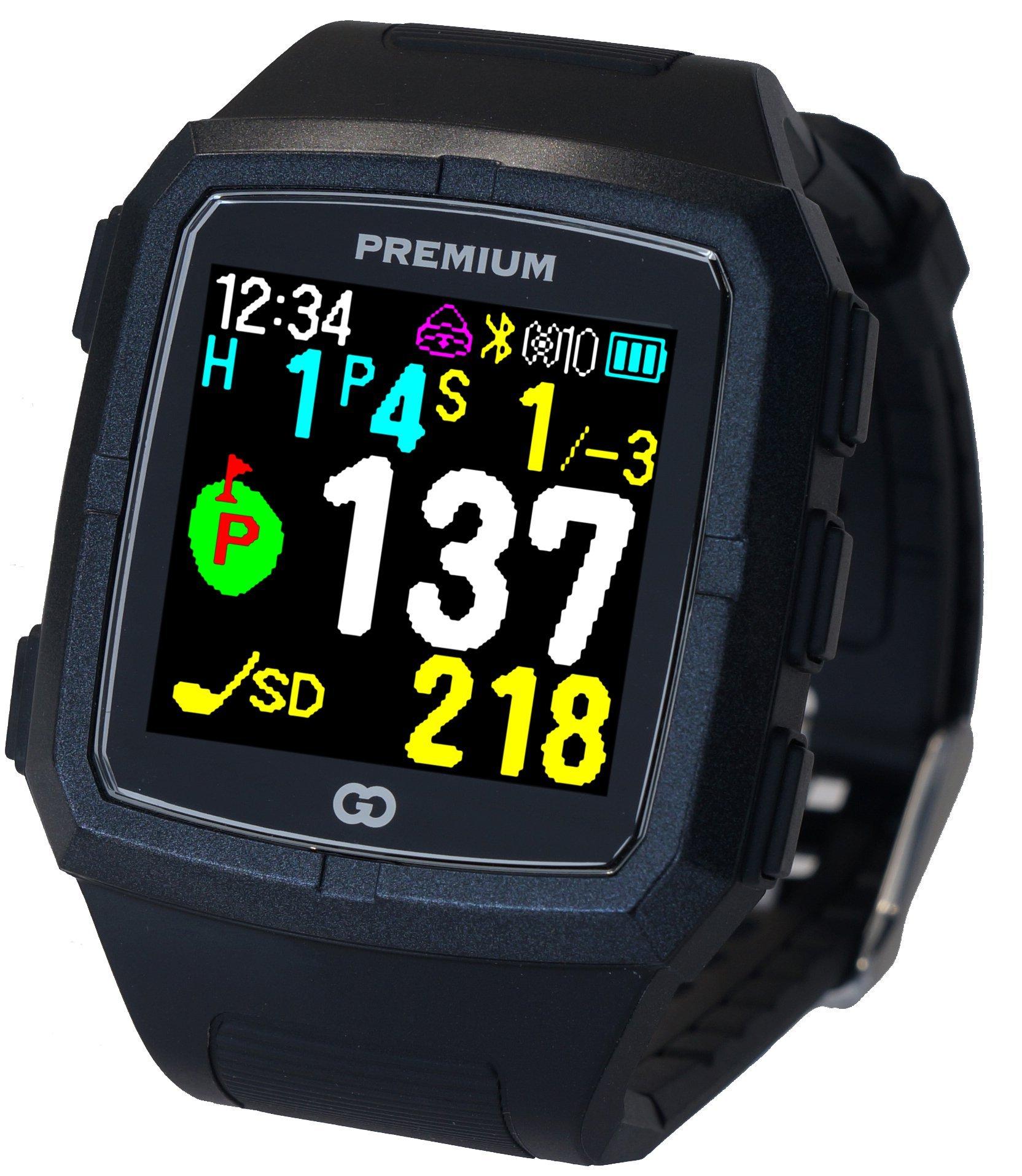 6236cd7edc6bc GreenOn(グリーンオン) ゴルフナビ GPS ザ・ゴルフウォッチ プレミアム カラーモデル[