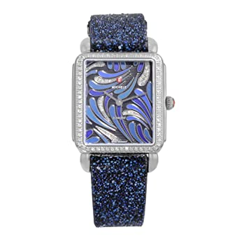55a7a309add Image Unavailable. Image not available for. Color: Michele Deco II Bijoux  Diamond MWW06X000031 Stainless Steel Quartz Ladies Watch