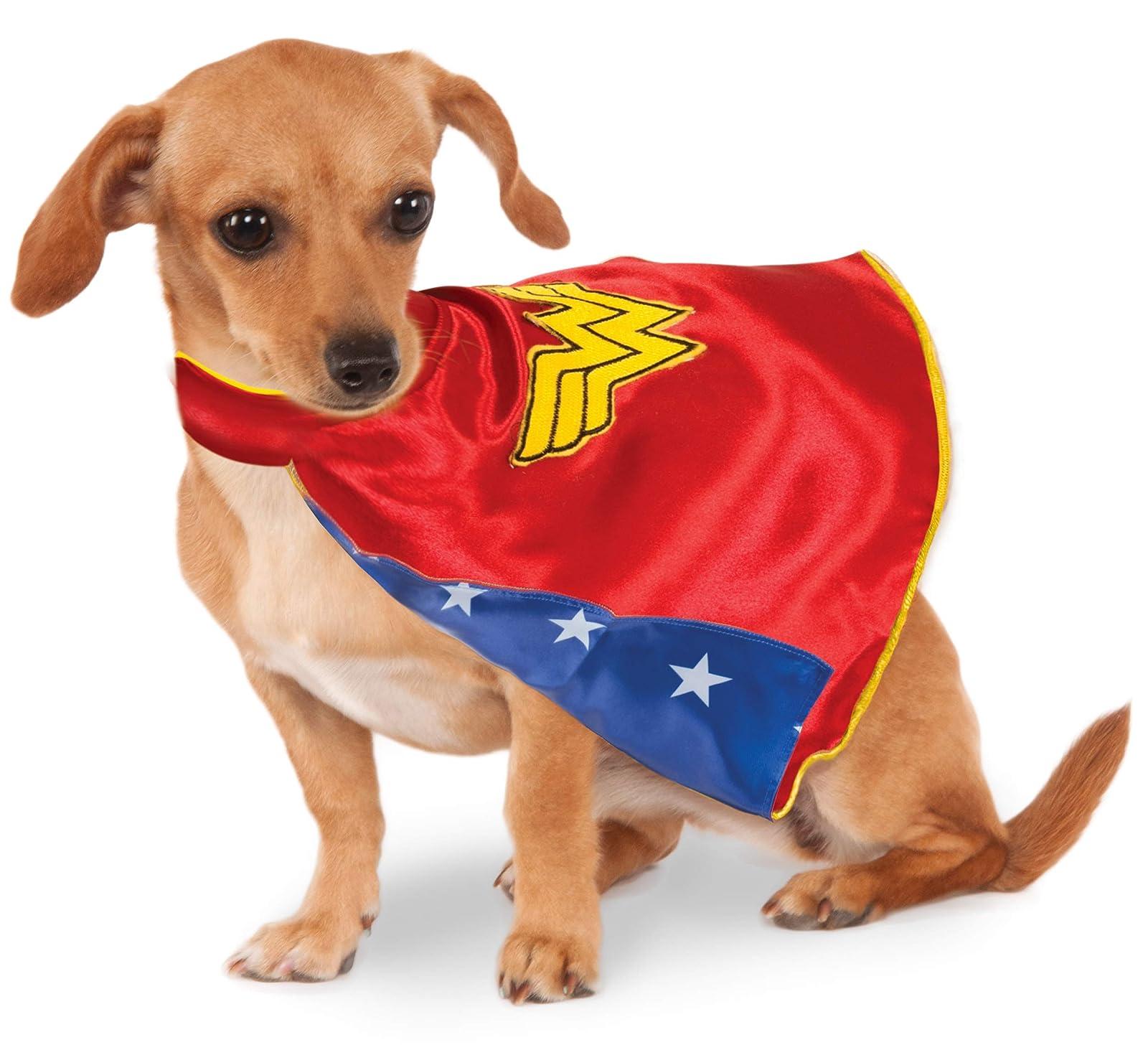 DC Comics Wonder Woman Pet Cape Medium 580321 M Multicolor - 2