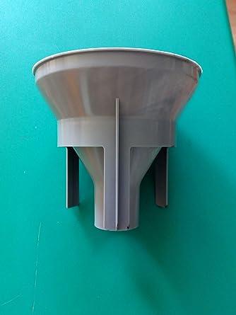 Embudo de carga sal para lavadora original Smeg: Amazon.es ...