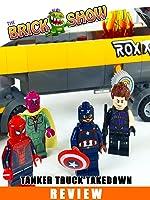 LEGO Marvel Superheroes Tanker Truck Takedown Review (76067)