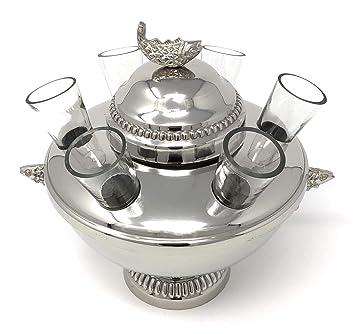 Bañado en plata caviar y Vodka servidor (libre envío estándar.): Amazon.es: Hogar