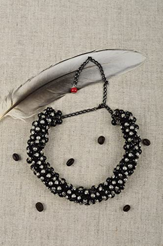 633e67a13ae9a Amazon.com: Evening Jewelry Beaded Stylish Necklace Elegant Necklace ...
