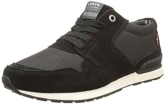 Negro Levi's noir Runner Hombre Para Zapatillas Eu Ny 41 Tab xqPFw6AHnq