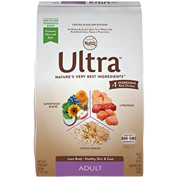 Nutro Ultra Dog Food >> Amazon Com Nutro Ultra Adult Dry Dog Food 30 Pounds Pet Supplies